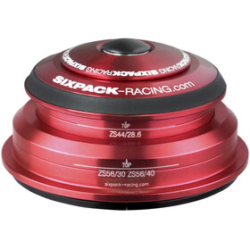 Sixpack SXR 2In1 Headset ZS44/28.6 I ZS56/30 and ZS44/28.6 I ZS56/40 red